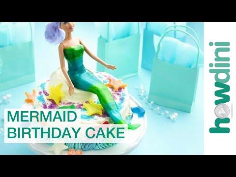 Birthday Cake Ideas Easy Mermaid Birthday Cake