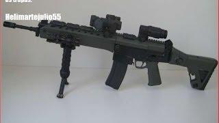 Fuzil de Assalto IA2 (5.56x45mm), mais de 200 mil foram comprados pelo Exército