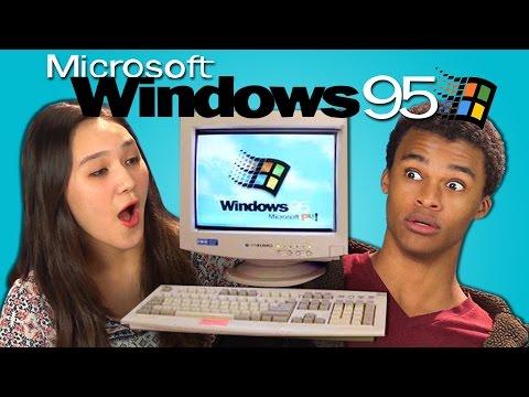 TEENS REACT TO WINDOWS 95