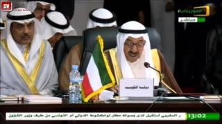 صاحب السمو يجب إيران احترام سيادة الدول وعدم التدخل في شؤونها الداخلية