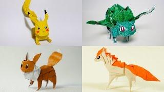 The Best Origami Pokemon - All Pokemon Models (by Henry Phạm)