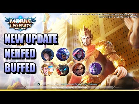 Xxx Mp4 NEW UPDATE DISCOUNTED BP TANKS NEW HEROES MOBILE LEGENDS NEWS 3gp Sex