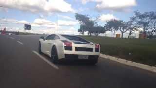 Nova Lamborghini de Gusttavo Lima - Dando um rolê em Goiânia