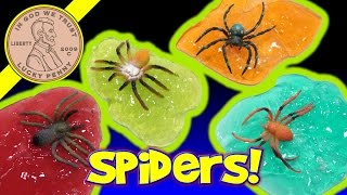 Creepy Crawler Spider Putty In 4 Colors! Are You Creeped Out By Spiders!