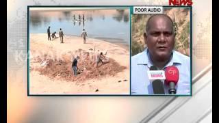 Dead Whale Found on Puri Beach