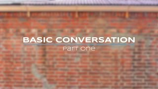 [Korean Language] Basic Conversation - Part I