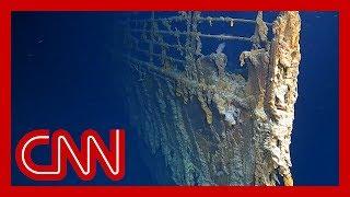 New video reveals Titanic being devoured