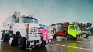 Supersize Burmese Drag Race | Top Gear | Series 21 | BBC