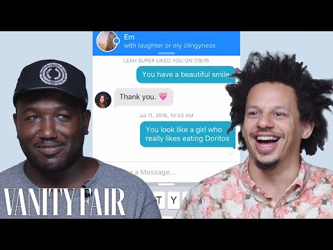 Eric Andre and Hannibal Buress Hijack Each Other s Tinder Accounts Vanity Fair