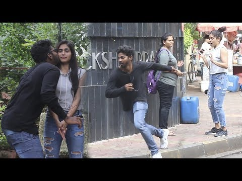 Xxx Mp4 Kiss And Run Prank Part 2 Funk You Pranks In India 3gp Sex