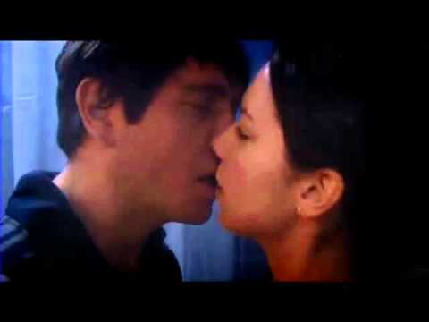 Kirsty and Warren Kissing in the Shower (Casualty)