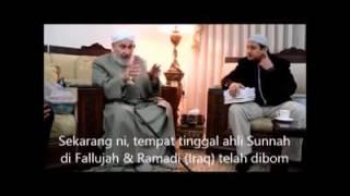 Temuramah Mantan Mufti Iraq Syeikh Duktur Abdul Malik Bin Abdul Rahman As-Sa'di