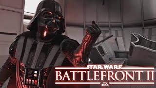 Star Wars Battlefront II Luke Skywalker VS Darth Vader
