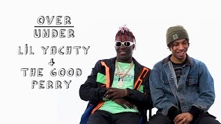 Lil Yachty + The Good Perry rate Biggie, Tom Hanks, and Pirating
