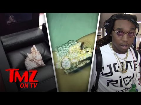 Migos' Takeoff Has $33k Wrapped Around His Finger | TMZ TV