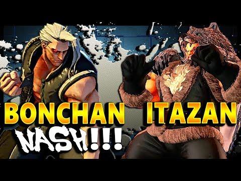 SFV - Bonchan Back On Sum Nash Vs Itazan | First To 5 - SF5