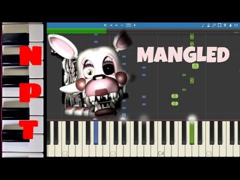 Mangled Piano Tutorial - NateWantsToBattle - FNaF