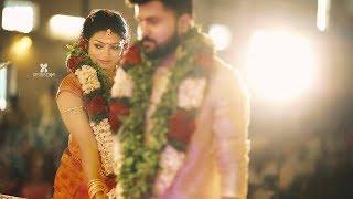 kerala Traditional Best Hindu  wedding highlights Sarath Reshmi