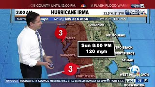 3 a.m. update: Irma returns to Category 4 strength as it closes in on Florida Keys