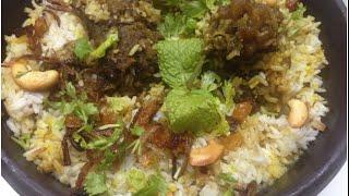 Beef Dum Biriyani Malabar Style / Kozhikkodan beef Dum biriyani / Kerala Style Beef Dum Biriyani