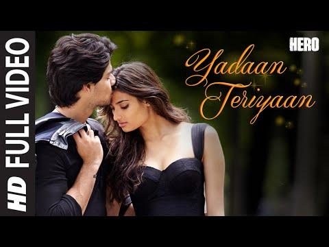 Xxx Mp4 Yadaan Teriyaan FULL VIDEO Song Rahat Fateh Ali Khan Hero Sooraj Athiya TSeries 3gp Sex
