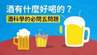 酒有什麼好喝的?酒科學的必問五問題 科學大爆炸2-EP.37
