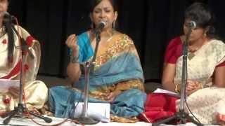 Indira Das singing Rabindrasangeet 'Ami Rupe Tomay'