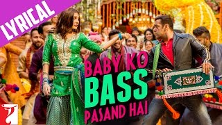 Lyrical: Baby Ko Bass Pasand Hai Song with Lyrics | Sultan | Salman Khan | Anushka | Irshad Kamil