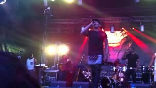 JPB Ballin ft Recruitz Band Live on stage @ Salsa dansen tijdens Caribbean night kermis Tilburg 2013