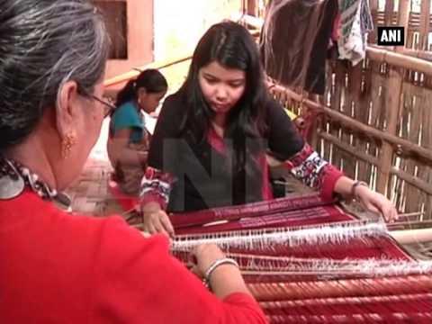 Women in Tripura preserve traditional weaving of Chakma tribe