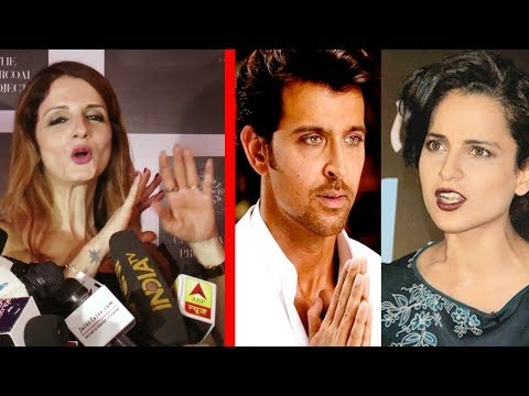 Sussanne Khan's FUNNY Reaction On Kangana Ranaut & Hrithik Roshan Controversy