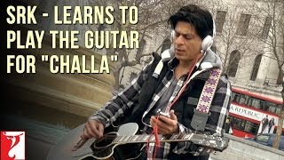 Shah Rukh Khan - Learns to play the Guitar for