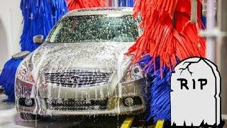 5 Ways The Car Wash Will DESTROY Your Car!