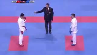 نهائي بطولة العالم أسبانيا 2017 أحمد رجب المصري ضد دي كوستا الفرنسي