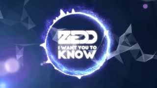 Zedd - I Want You To Know ft. Selena Gomez (Lyric Video)