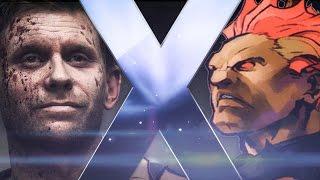 Lucifer (Supernatural) Vs Akuma (Street Fighter) | ft. ShawZ