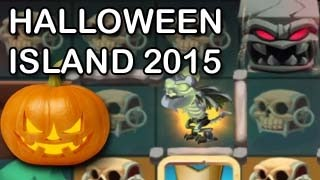 HALLOWEEN ISLAND 2015 Dragon City Frankie Dragon Bone Dragon Combat Quest