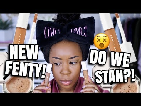 ABOUT TIME FENTY BEAUTY PRO FILT R CONCEALER & SETTING POWDER FULL DAY WEAR TEST Andrea Renee