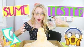 Testing Out VIRAL Slimes Part 3! (It Exploded!) | Sasha Morga