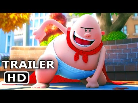 CAPTAIN UNDERPANTS Official Trailer 2017 Animation Kevin Hart Movie HD