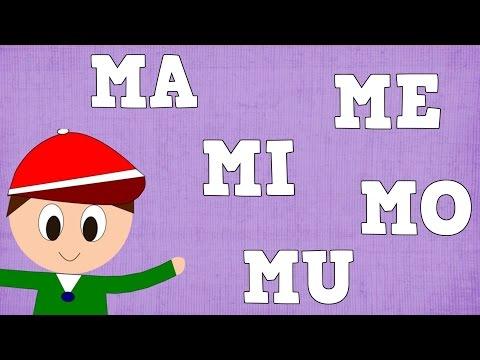 Xxx Mp4 Sílabas MA ME MI MO MU Syllable With M Vídeos Para Niños 3gp Sex