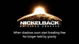 Nickelback - Million Miles An Hour (lyrics)