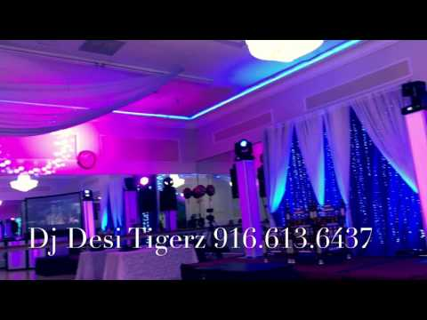 Punjabi Reception Party in Oasis Palace Newark Fremont California Indian Dj Desi Tigerz in Bay Area