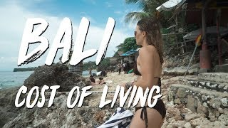 """Bali Indonesia 4k """" Cost of Living """""""
