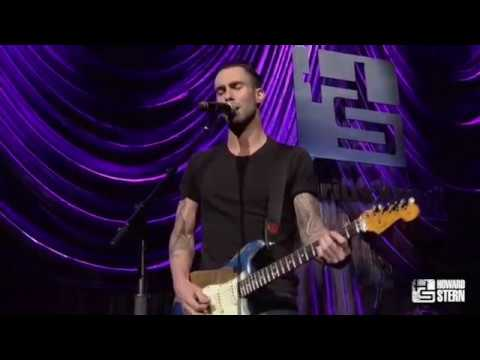 Adam Levine Performs Purple Rain At The Howard Stern Birthday Bash on SiriusXM