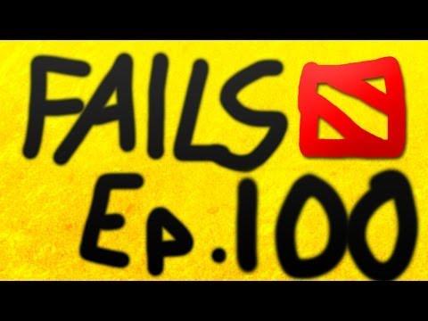 Dota 2 Fails of the Week - Ep. 100 (20 Fails)