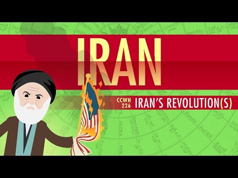 Iran s Revolutions Crash Course World History 226