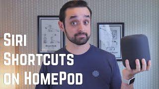 HomePod Shortcuts! Siri reader, AirPlay, & my Spotify HACK
