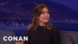 "Mandy Moore Works As An Actor & Babysitter On ""This Is Us""  - CONAN on TBS"