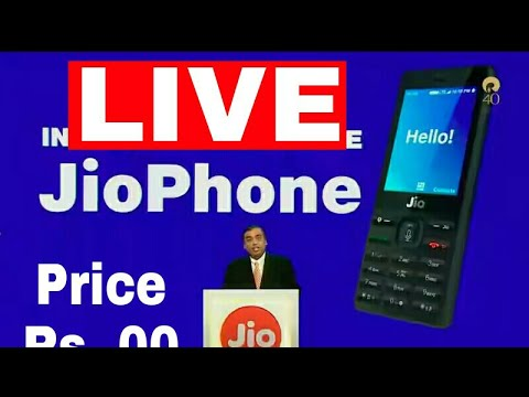 [LIVE] JIO AGM Phone Launching